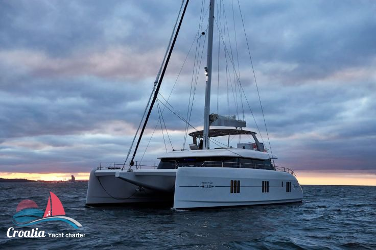 Croatia yacht Sunreef Catamaran Sail 60