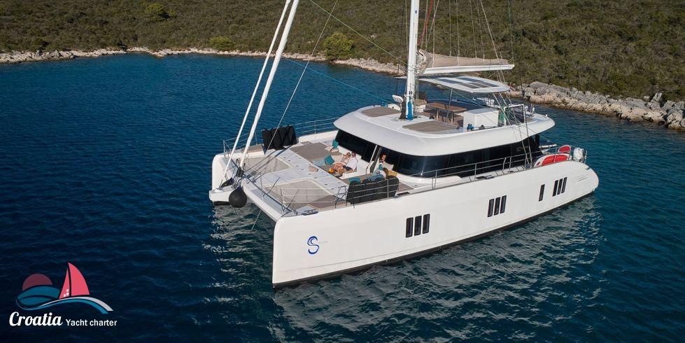 Croatia yacht Sunreef Catamaran Sail 60