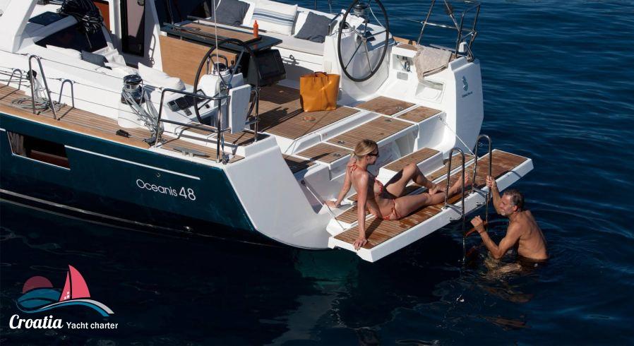 Croatia yacht Beneteau Oceanis  48