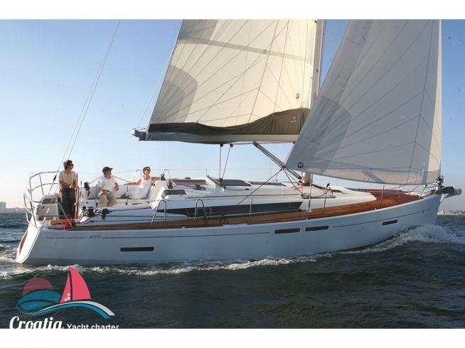 Croatia yacht Jeanneau Sun Odyssey 409