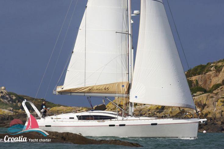 Croatia yacht Allures Yachts Allures 45