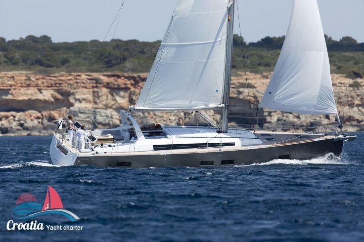 Croatia yacht Beneteau Oceanis  55