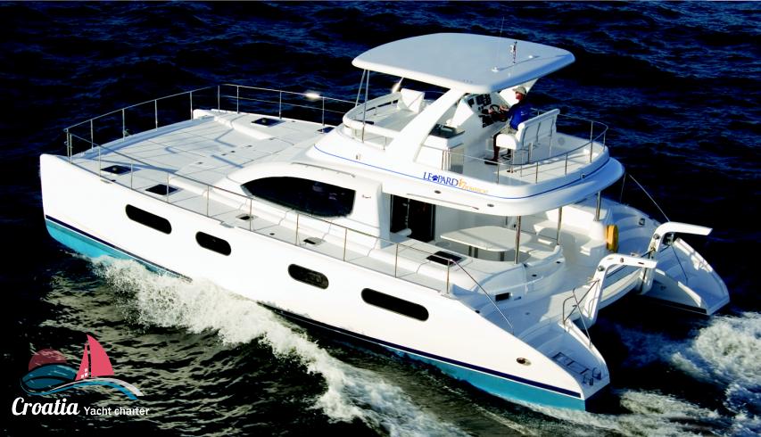 Croatia yacht Robertson & Caines Leopard  Power 474