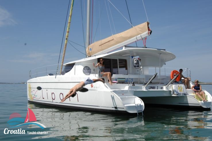 Croatia yacht Fountaine Pajot Lipari  41