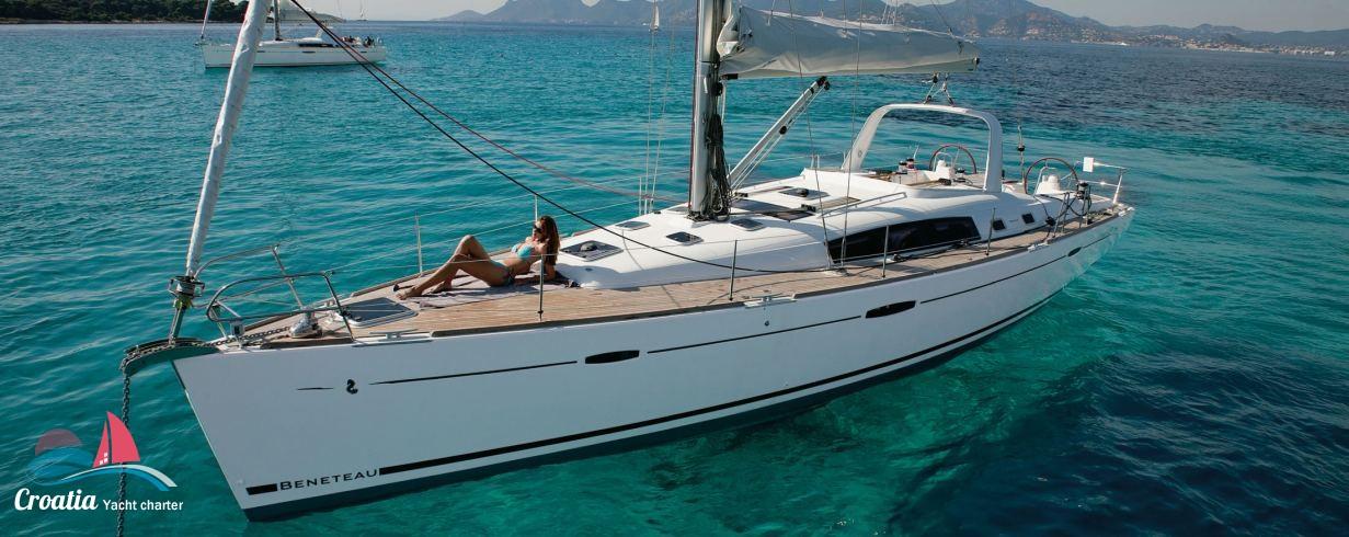 Croatia yacht Beneteau Oceanis  50