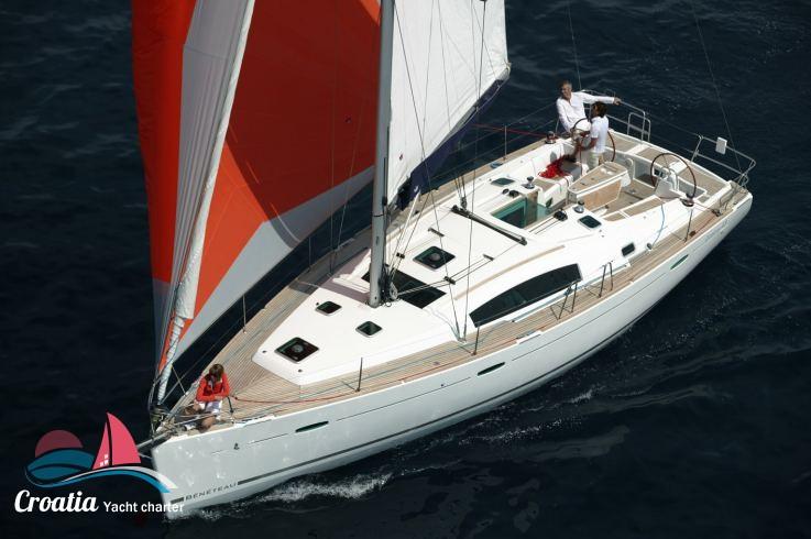 Croatia yacht Beneteau Oceanis  43