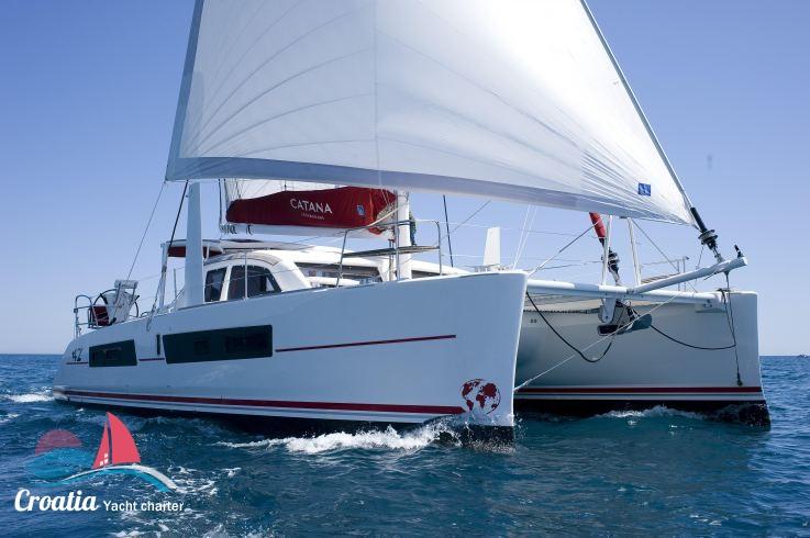 Croatia yacht Catana Catamaran Catana 47 OC