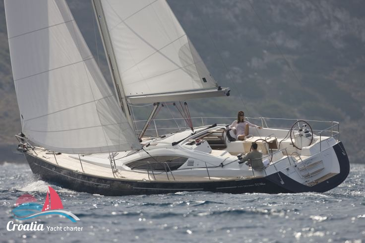 Croatia yacht Jeanneau Sun Odyssey 50DS