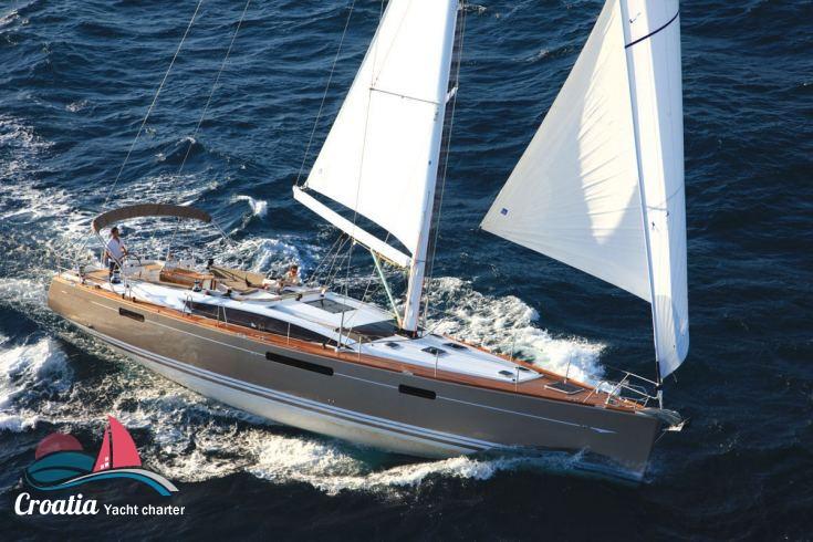Croatia yacht Jeanneau Jeanneau 57