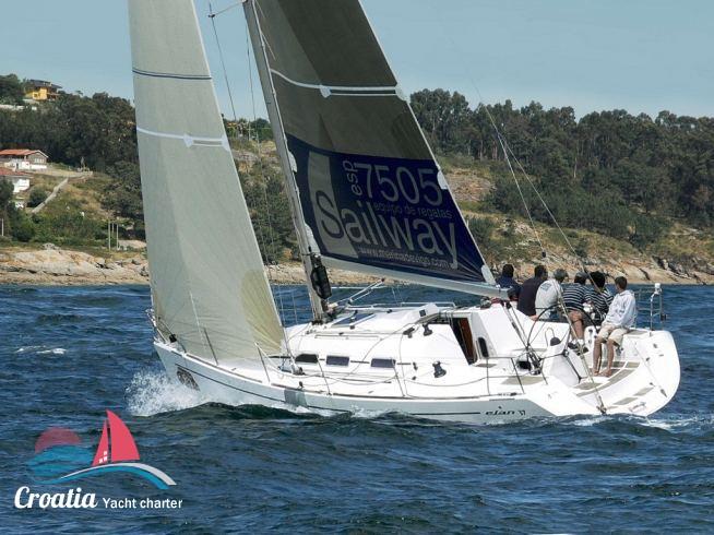 Croatia yacht Elan Yachts Elan 37