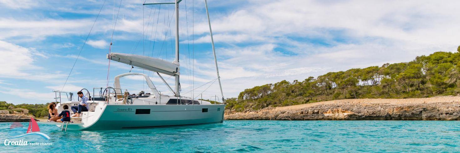 Croatia yacht Beneteau Oceanis  41.1