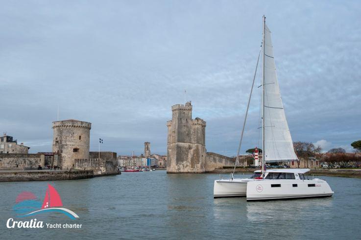 Croatia yacht Nautitech Catamaran Nautitech 40 Open