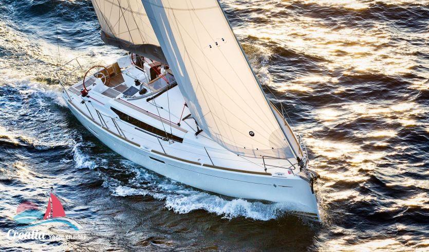 Croatia yacht Jeanneau Sun Odyssey 379