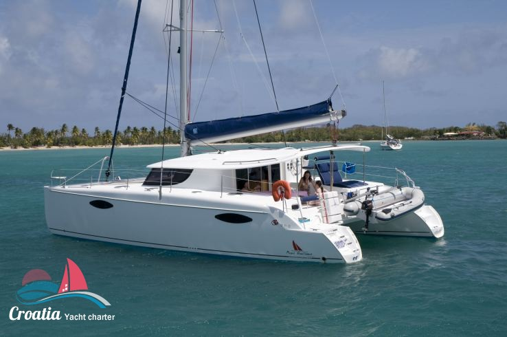Croatia yacht Fountaine Pajot Orana 44
