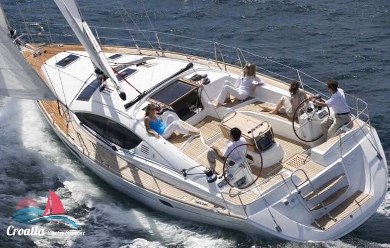 Croatia yacht Jeanneau Sun Odyssey 45DS