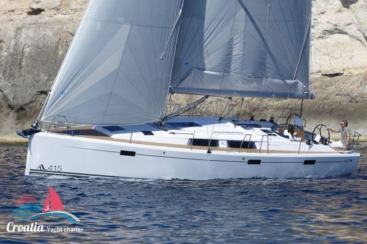 Croatia yacht Hanse Yachts Hanse 415