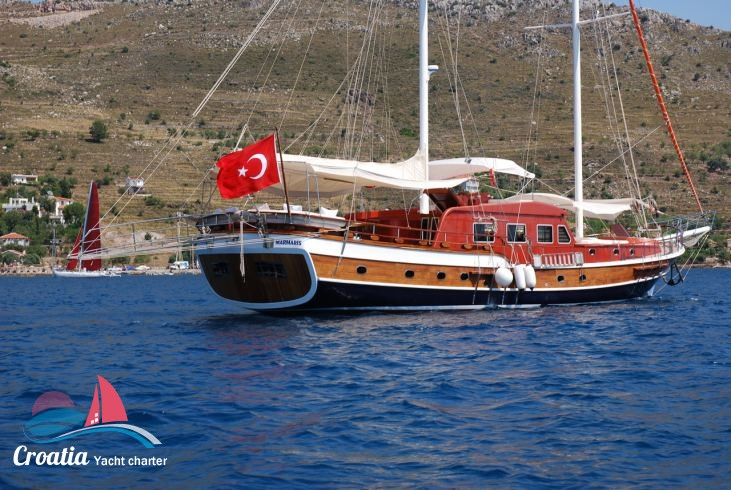 Croatia yacht Turkish Gulet - GD 28M