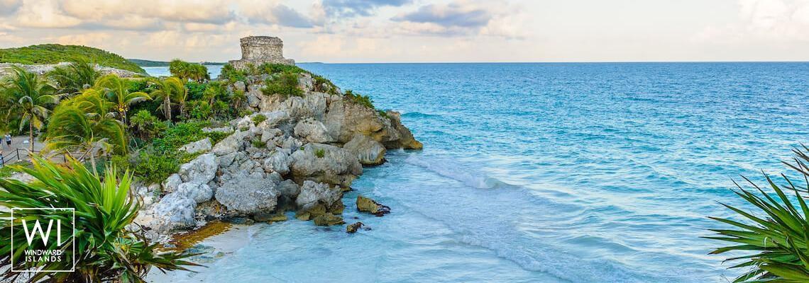 Tulum ruins, Yucatan - Mexico - 1