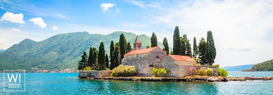 St. George, Perast, baie de Kotor, Monténégro - 1