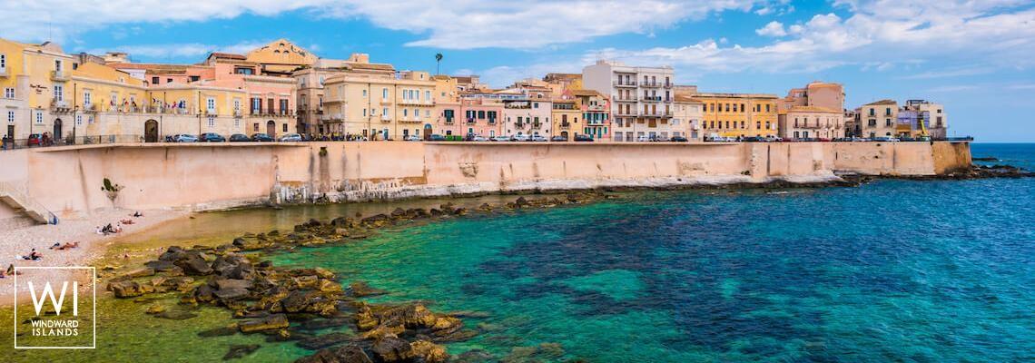île Ortigia- Syracuse, Sicile, Italie - 1