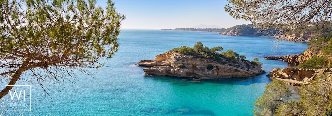 plage Ametlla L'ametlla de mar,  Tarragone - Catalogne - 1