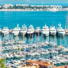 Yacht charter La Croisette , Cannes, French Rivieira